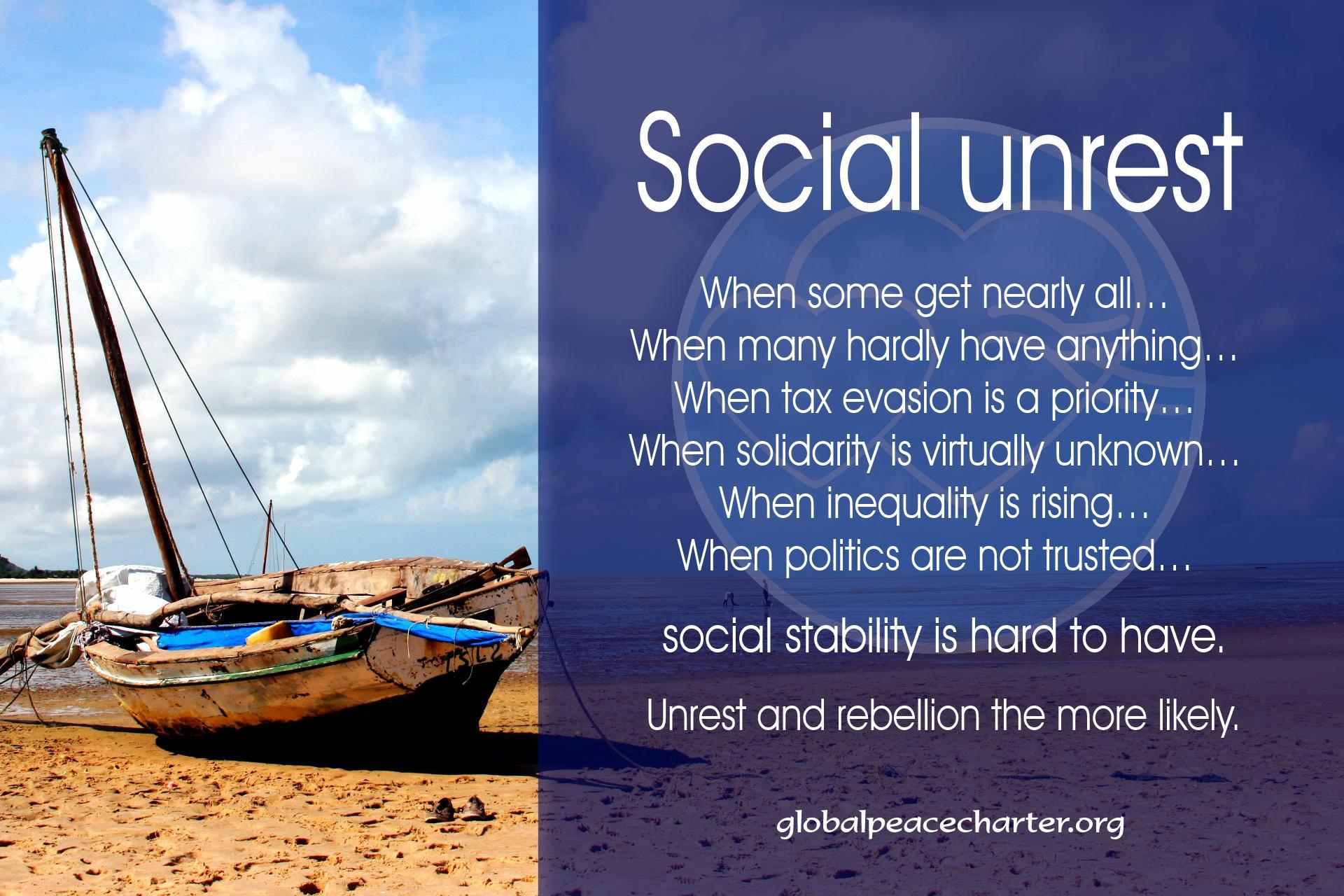 Social unrest