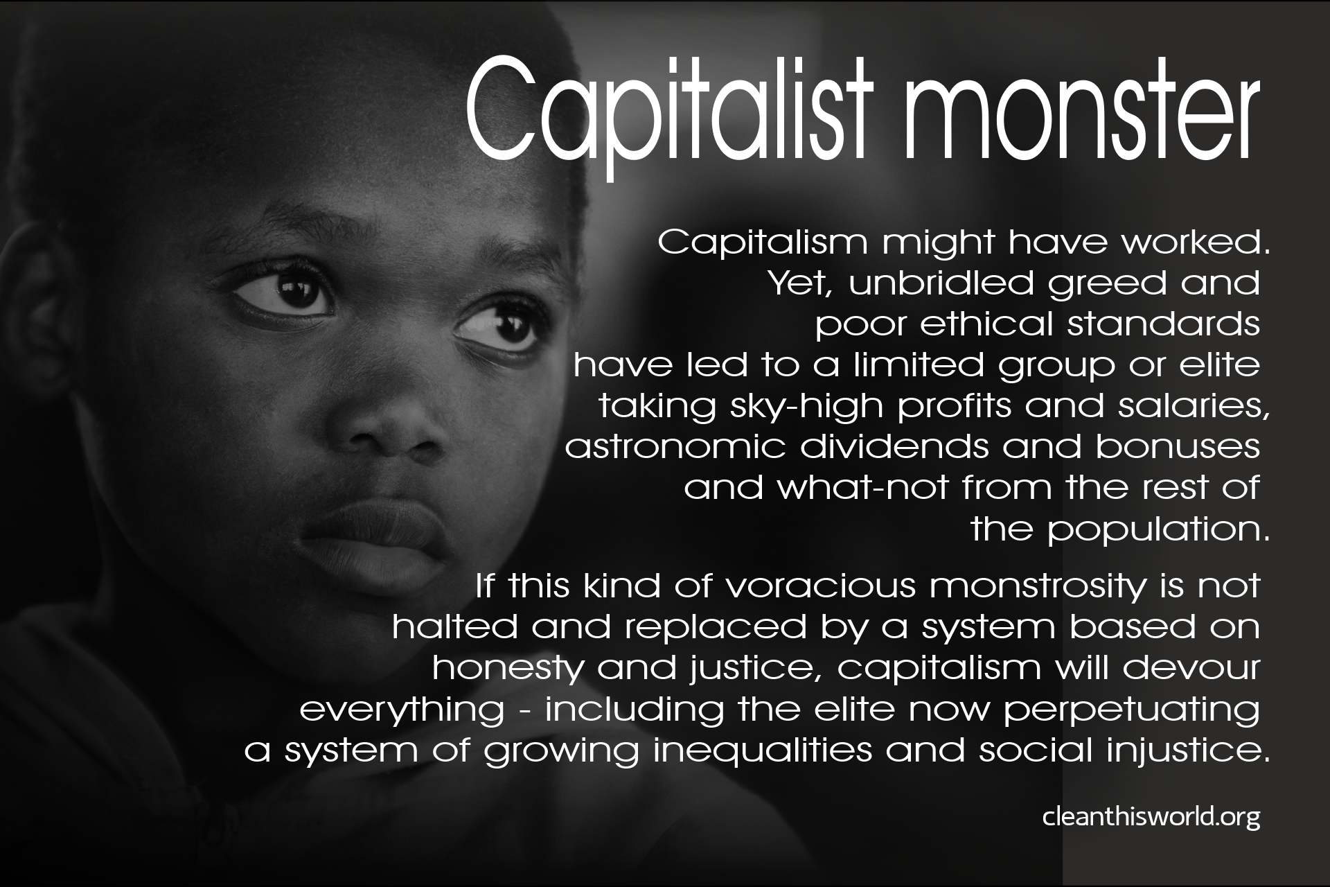 Capitalist monster