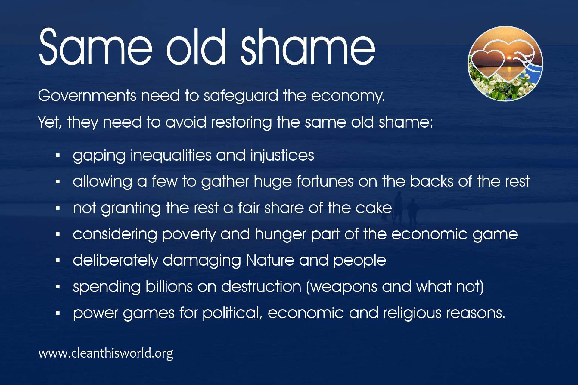 Same old shame