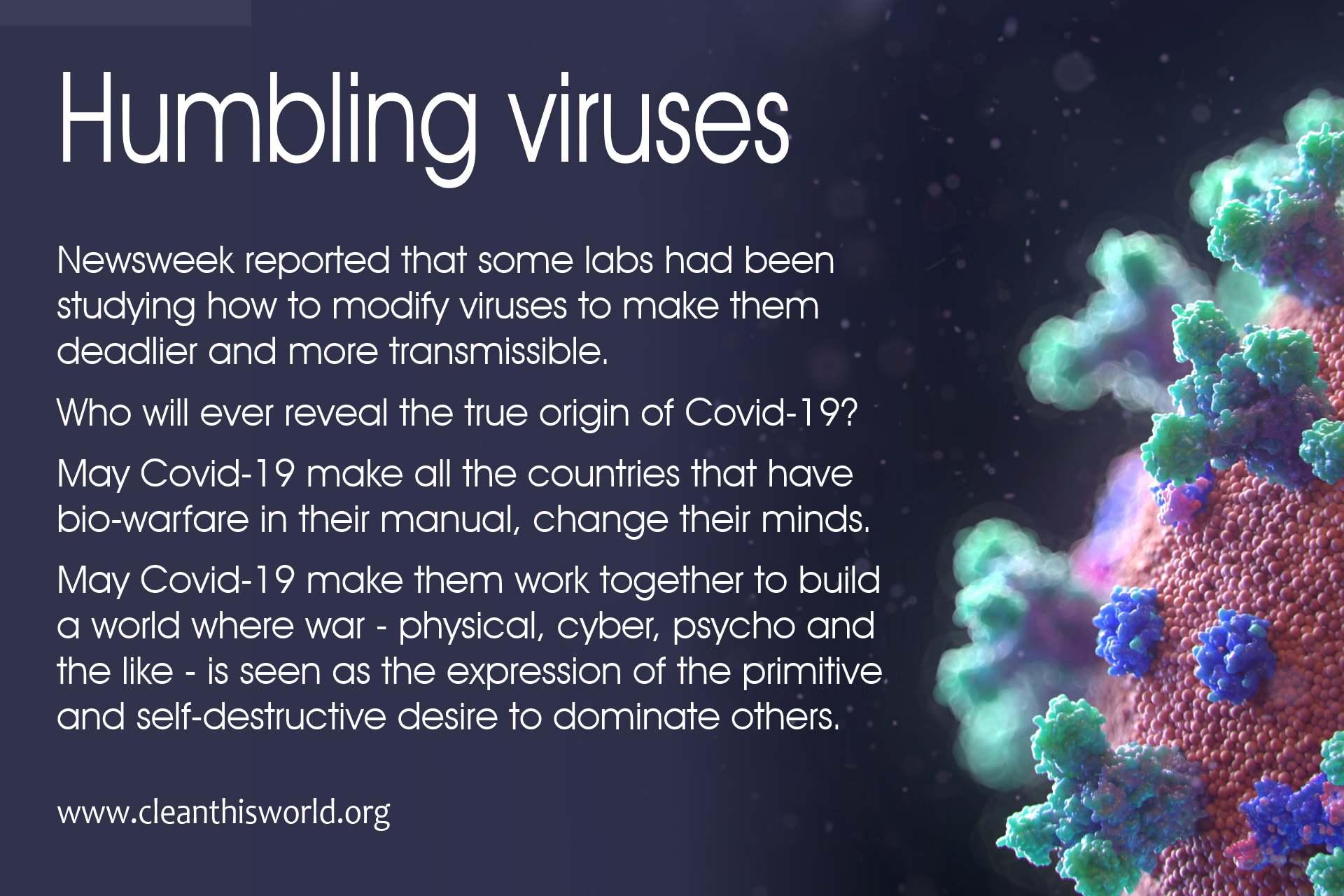 Humbling virus