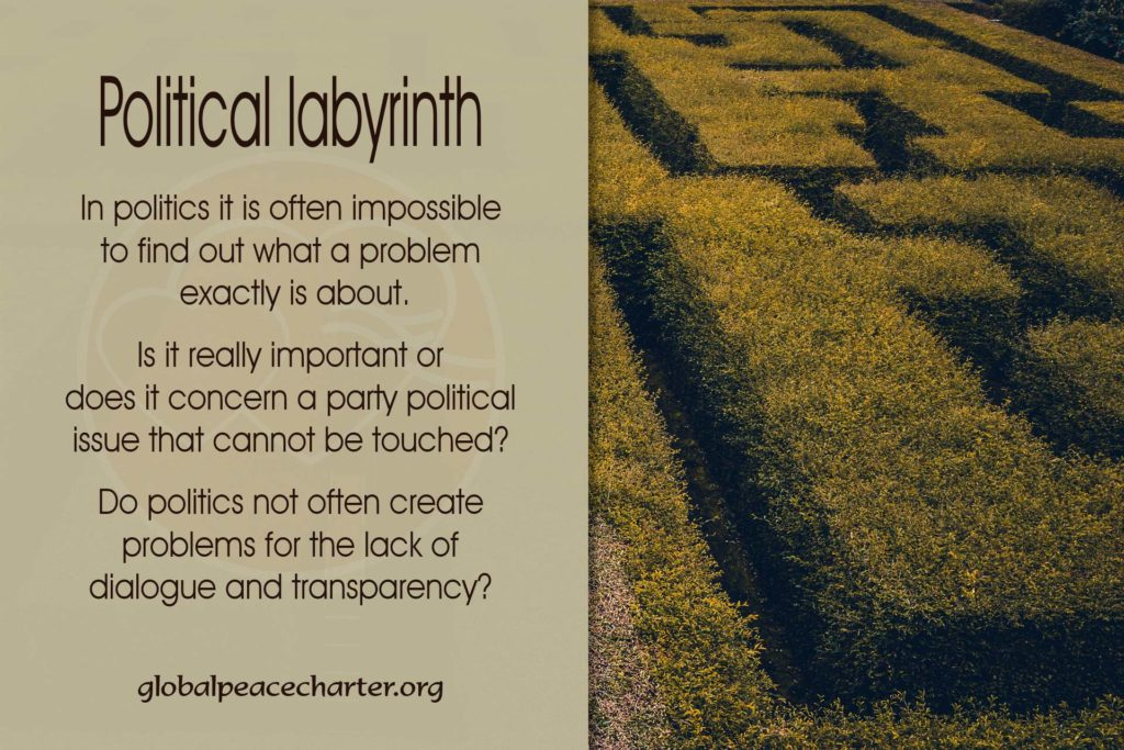 Political labyrinth