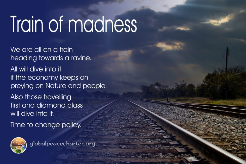 Train of madness