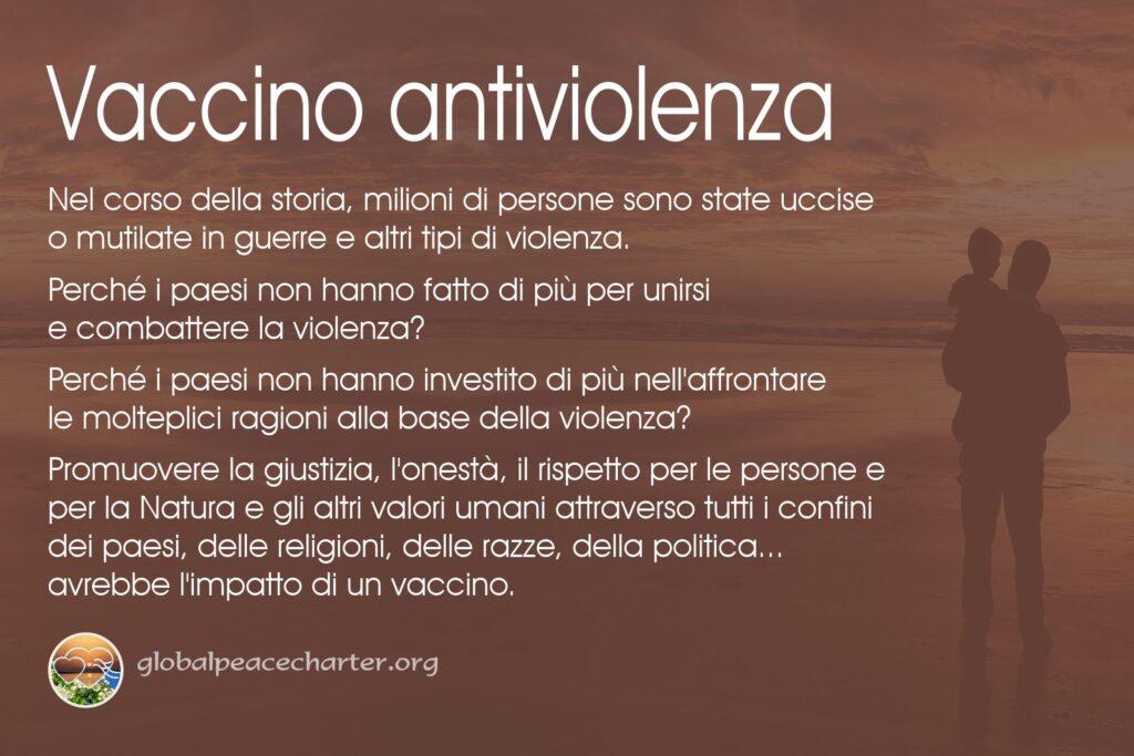 Vaccino antiviolenza