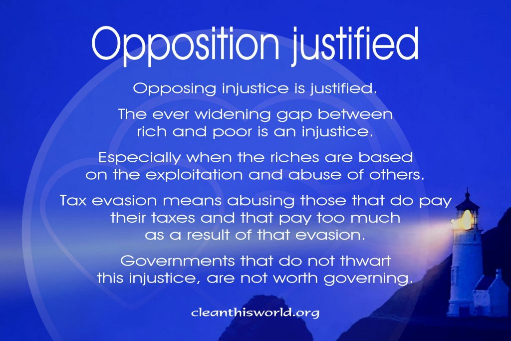 Opposition justified